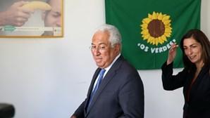 António Costa reúne com forças parlamentares à esquerda e PAN