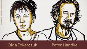Prémio Nobel da Literatura de 2018 vai para polaca Olga Tokarczuk. Austríaco Peter Handke conquista o de 2019