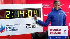 Brigid Kosgei bate recorde mundial da maratona feminina 16 anos depois de Radcliffe