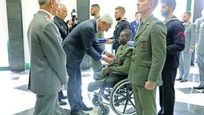 Militar que perdeu as pernas em missão na República Centro-Africana vai ter alta