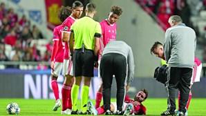 Rafa preocupa e é reavaliado no Benfica