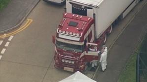 Homem de 48 anos detido por envolvimento nas mortes do 'camião do horror'