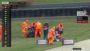 Miguel Oliveira sujeito a ressonância magnética após queda nos treinos livres do GP da Austrália