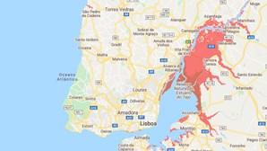 Conheça as regiões de Portugal em risco com a subida do nível da água dos oceanos