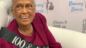 Parar é morrer: Idosa continua a trabalhar aos 101 anos