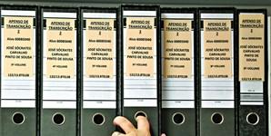 Processo Marquês conta com dezenas de volumes e centenas de apensos