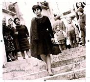 Fotografada em Lisboa, na década de 50