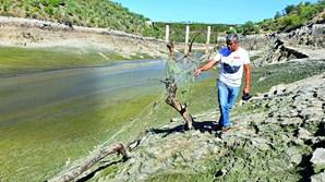Rio Pônsul,  afluente do Tejo, que atravessa os concelhos de Castelo Branco e Idanha-a-Nova, está quase seco na zona de Lentiscais