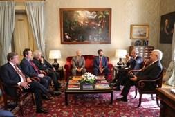 Chega recebido pelo Presidente da República