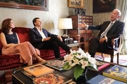 PAN reunido com o Presidente da República, Marcelo Rebelo de Sousa