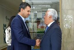 António Costa esteve com André Silva na sede do PAN