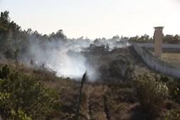 Incêndio na Serra da Carregueira, em Sintra