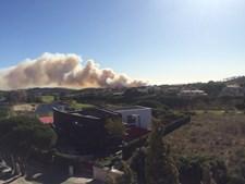 Incêndio na Carregueira, em Sintra