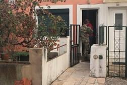 Militares estão no local e encontram-se a evacuar a localidade de Venda Seca