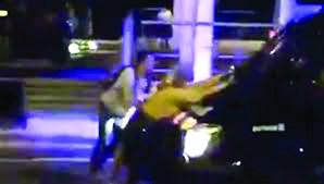 Vídeo captou o momento da polémica atuação de agentes da polícia