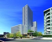 Edifício Pacífico terá casas, escritórios, um supermercado, um ginásio e um hotel com 231 quartos