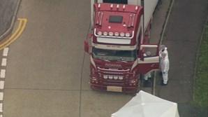 Autoridades cercam camião que transportava 39 cadáveres