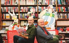 Jean-Yves Ferri (argumento) e Didier Conrad (desenho) 'herdaram', em 2013, os heróis de Albert Uderzo e René Goscinny