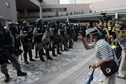 Protestos em Hong Kong