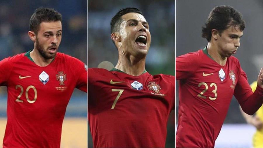 João Félix, Bernardo Silva e Ronaldo entre os nomeados para a Bola de Ouro