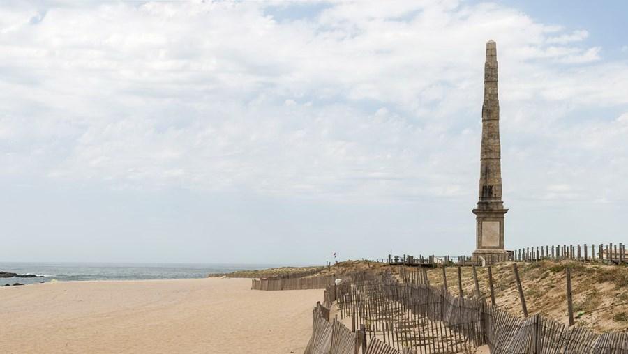 Praia da Memória em Matosinhos