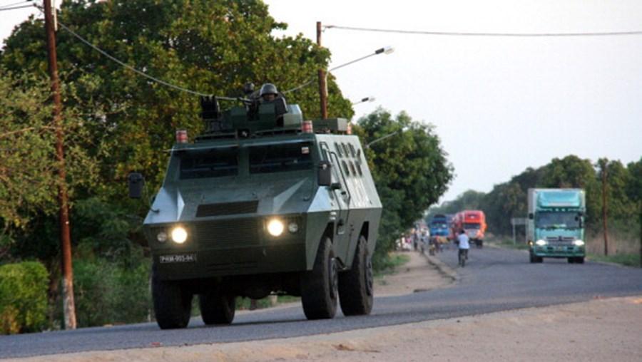 Polícia moçambicana