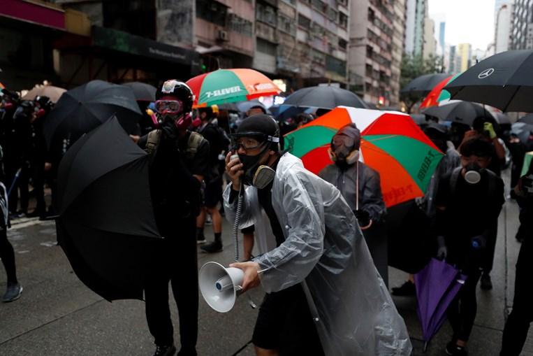 Protestos continuam ativos em Hong Kong