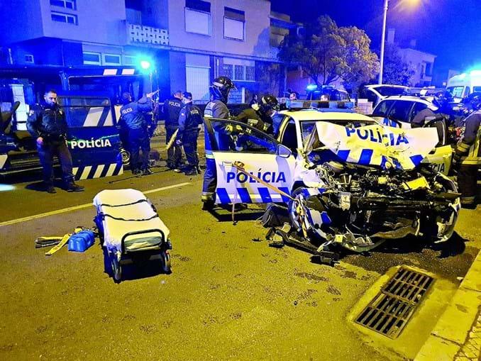 Agente da PSP com álcool fere oito colegas em Setúbal