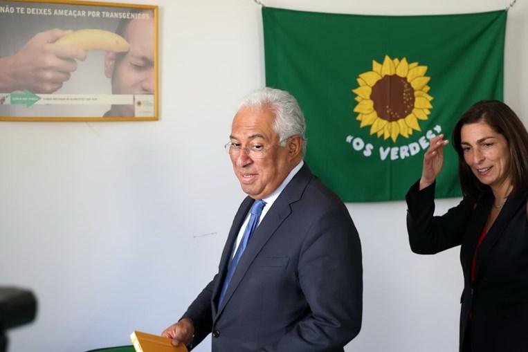 António Costa esteve reunido com os representantes do PEV