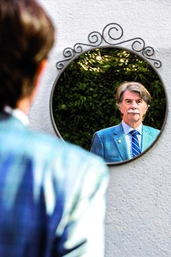 O psicólogo espanhol Javier Urra fotografado em Lisboa, no dia 7 de outubro