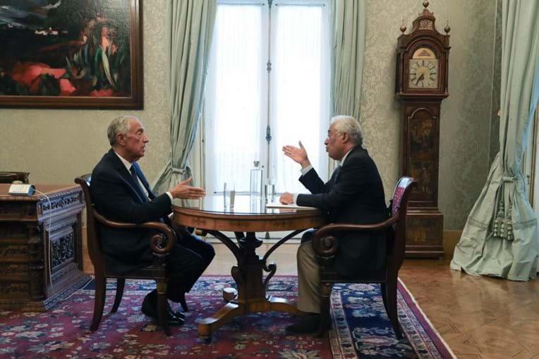 António Costa reuniu com Marcelo Rebelo de Sousa