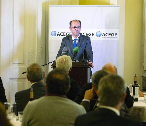 João Bento, presidente-executivo dos CTT, participou num almoço com empresários cristãos em Lisboa