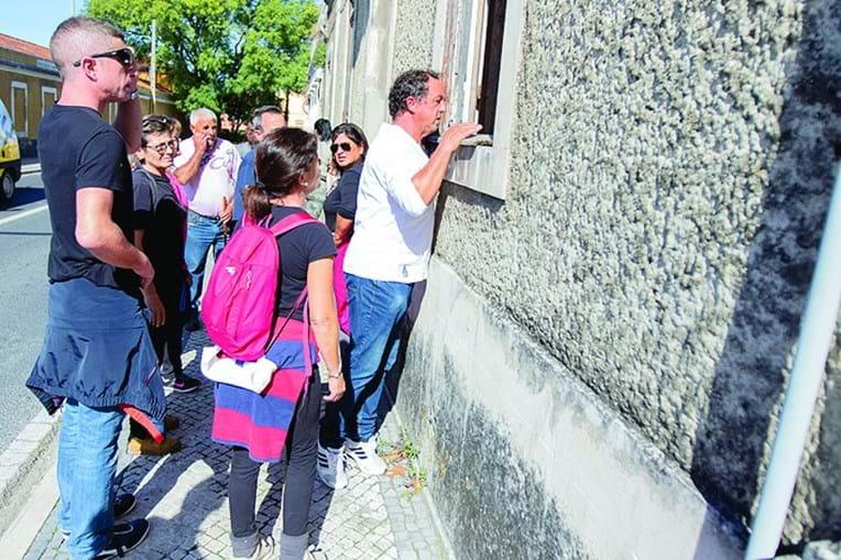 Voluntários bateram cidade e arredores