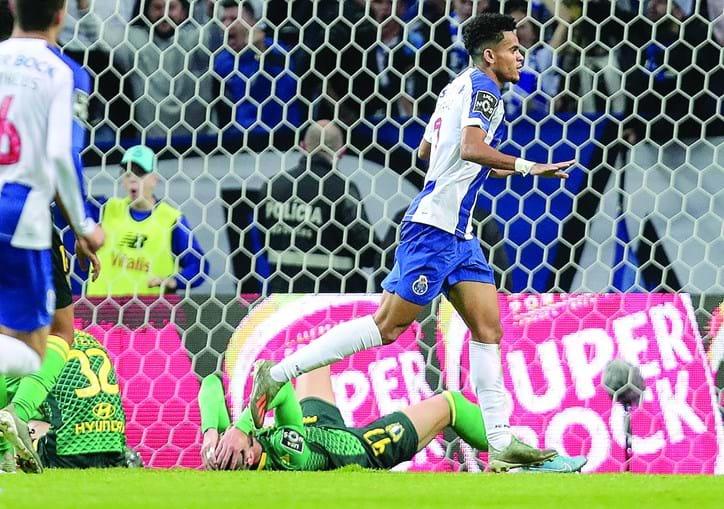 Luís Diaz marcou o 1º golo do FC Porto na vitória (3-0) diante do Famalicão