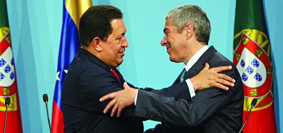José Sócrates fez uma visita oficial à Venezuela, então presidida por Hugo Chávez, entre 12 e 15 de maio de 2008, a qual proporcionou a assinatura de acordos económicos entre os dois países