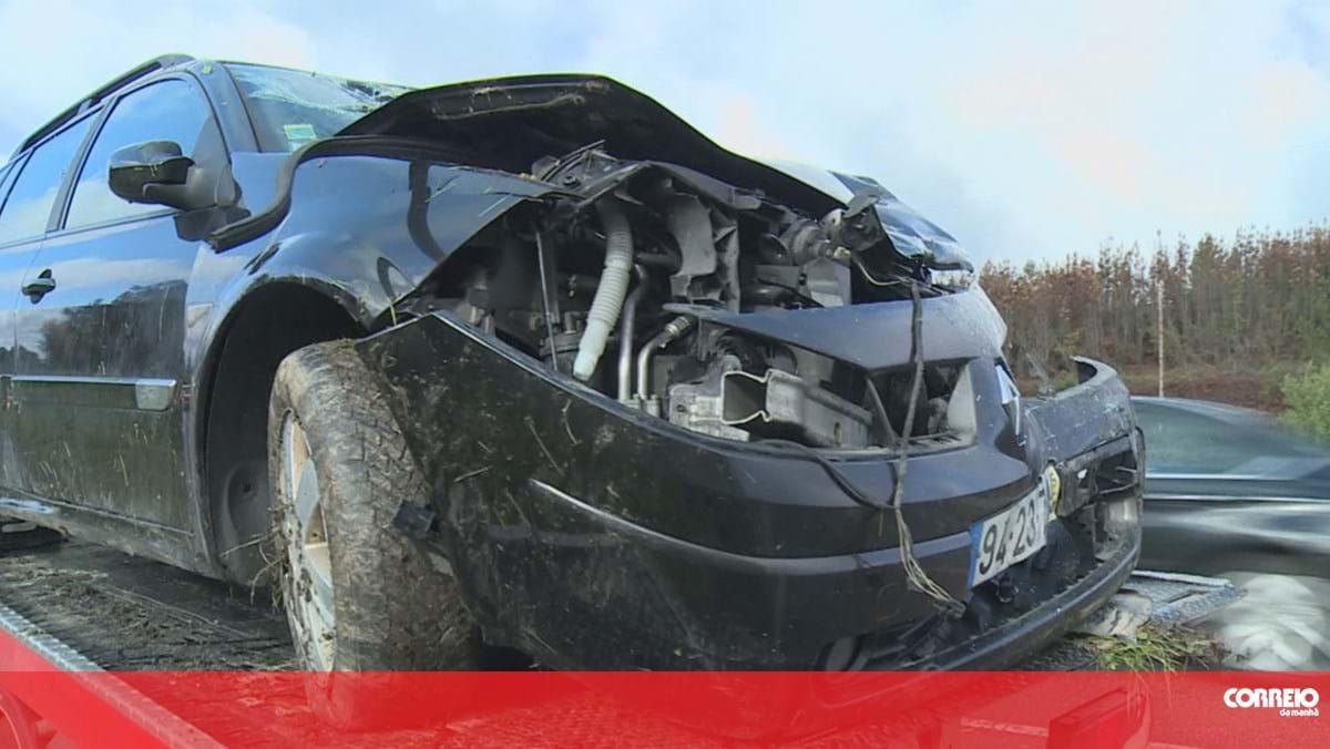 Seis feridos após colisão entre dois carros em Viseu. Duas crianças de seis e sete anos entre as vítimas graves - Correio da Manhã