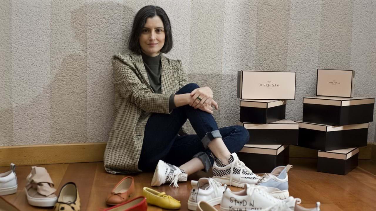 Ela criou um delivery de sapatilhas |