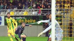 Sporting regressa ao passado e perde com o Tondela