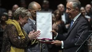 Presidente da República condecora Sophia de Mello Breyner com alto grau concedido a chefes de Estado