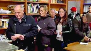 Localidade espanhola vota em 32 segundos
