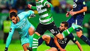 Vietto desata nó dado por Jorge Silas no Sporting