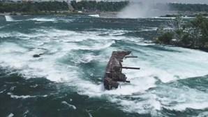 Encontrado navio que estava desaparecido há mais de 100 anos nas Cataratas do Niágara