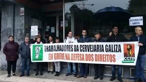 """Trabalhadores da cervejaria Galiza no Porto exigem """"rápida decisão do tribunal"""""""