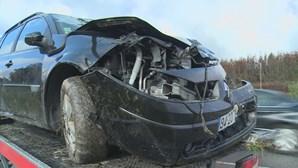Seis feridos após colisão entre dois carros. Duas crianças entre as vítimas graves