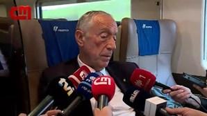 """Marcelo sobre tempo de intervenção dos partidos Chega, Iniciativa Liberal e Livre: """"Gosto de ouvir tudo e todos"""""""