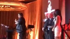 José Cid recebe Grammy de Excelência Musical em Las Vegas. Veja as imagens da entrega do prémio