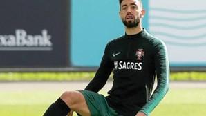 """Bruno Fernandes destaca """"poderio"""" alemão e enaltece golo à Hungria no jogo do Euro2020"""