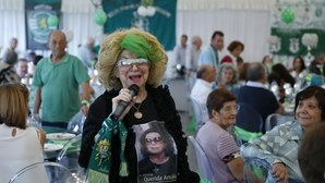 """Presidente da República destaca """"paixão clubística"""" e """"estilo emotivo"""" de Maria José Valério"""