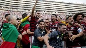 Maracanã em festa com a conquista do Flamengo da Taça Libertadores