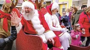 Magia do Natal invade as cidades